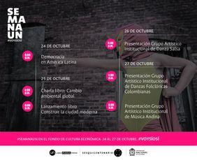 #SemanaUN en el Fondo de Cultura Económica #VoySíoSí